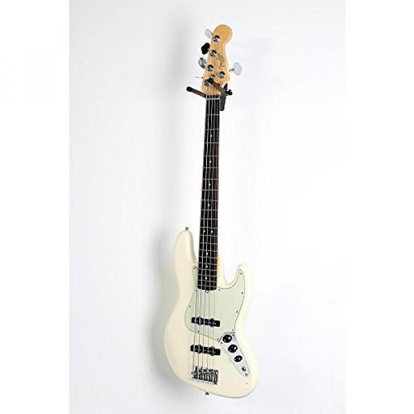 Fender American Professional Jazz Bass V Rosewood Fingerboard Level 3 Olympic White 190839081568