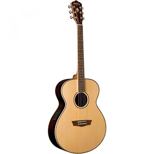 Washburn WG27SE Grand Auditorium Acoustic-Electric Guitar Natural