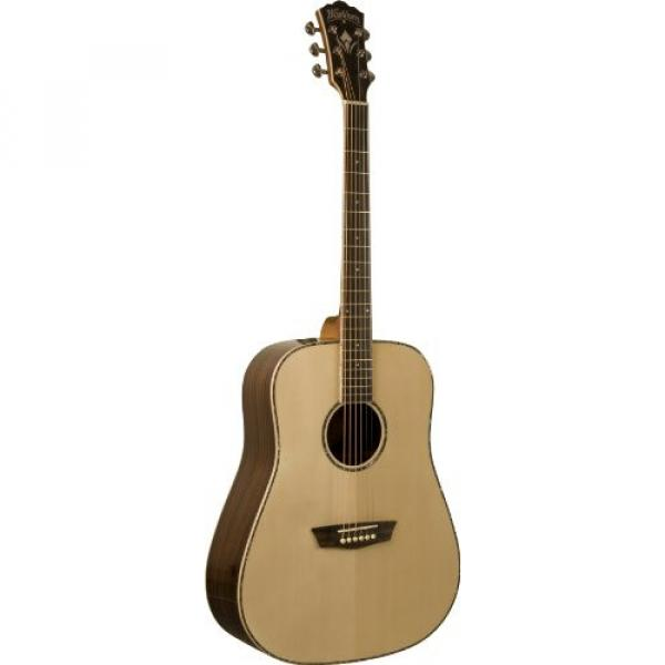 Washburn WD25S Dreadnought Acoustic Guitar - Natural