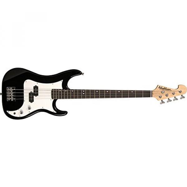Washburn Sonamaster SB1PB 4-String Bass Guitar, Black Gloss