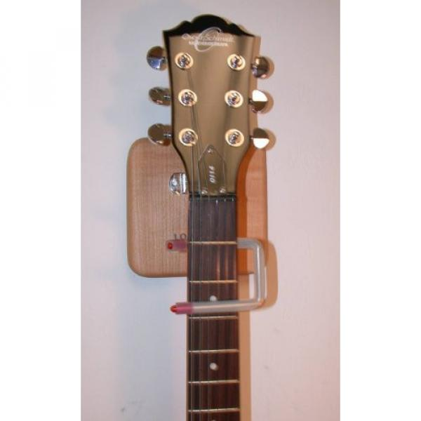 LOKSTAR Automatic Locking Guitar Wall Hanger, holds any Electric/Acoustic/Bass, LS-3