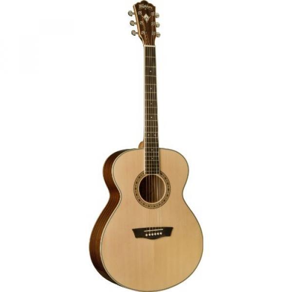 Washburn Heritage Series WG10S Acoustic Guitar, Natural