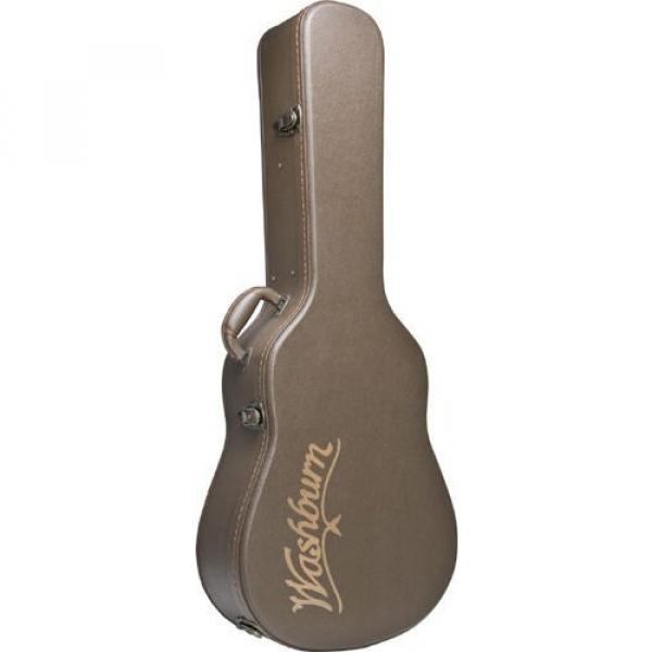 Washburn GCJDLX6 Deluxe Hardshell Case for Jumbo Size 6 String Guitars