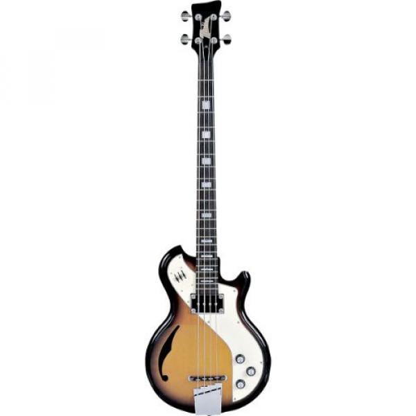 Italia Mondial Woody II Bass 4-string Bass Guitar - Tobacco Burst
