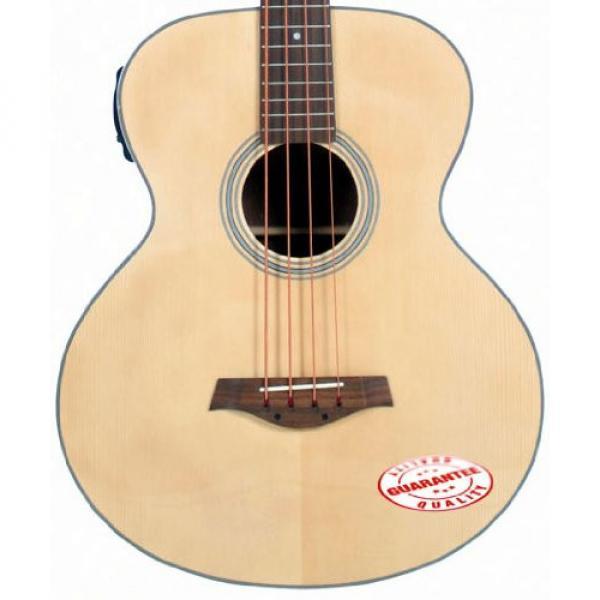 J Reynolds 4 String Acoustic Electric Bass JR1000