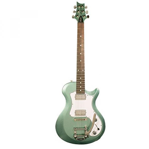 PRS S2 Starla Electric Guitar with PRS Gig Bag & ChromaCast Accessories, Frost Green Metallic