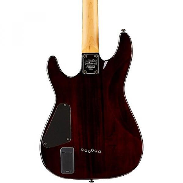 Schecter Guitar Research Demon-6 Electric Guitar Crimson Red Burst