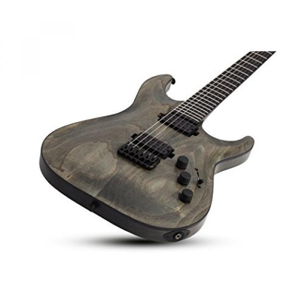 Schecter 1300 Solid-Body Electric Guitar, Rusty Grey