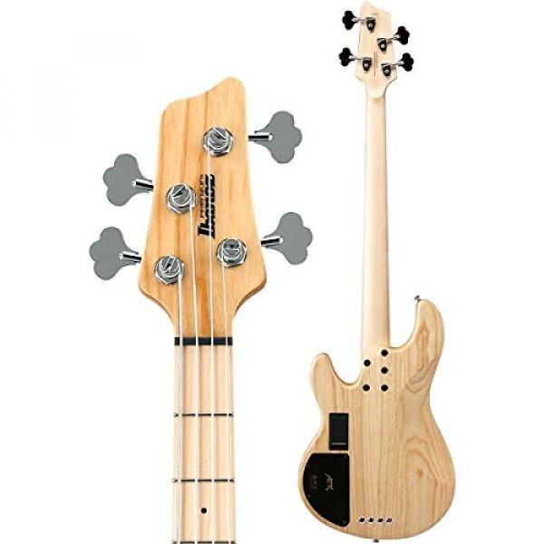 Ibanez Premium ATK810E 4-String Electric Bass Guitar Flat Natural