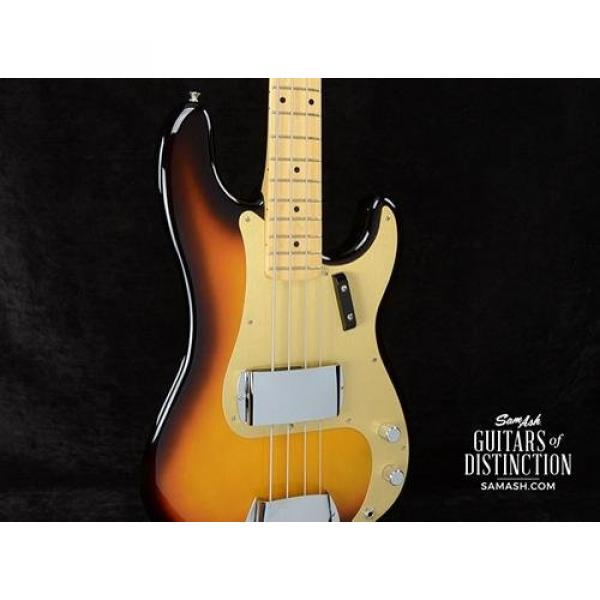 Fender American Vintage '58 Precision Bass 3-Color Sunburst (SN:V1531765)