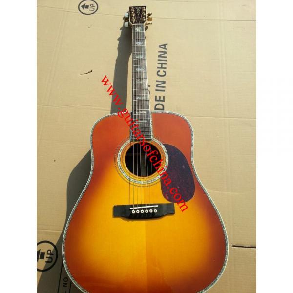 Martin D45 rosewood fretboard cherry suburst color best guitar store