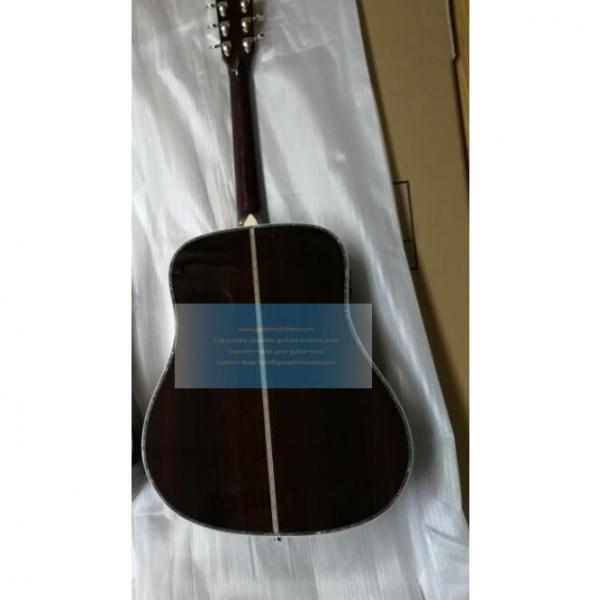 Custom Natural Martin D45v Tree of Life Inlay Guitar