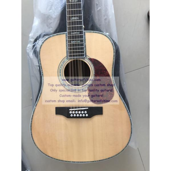 Custom Martin D 45 12 string Acoustic Guitar(Top Quality)
