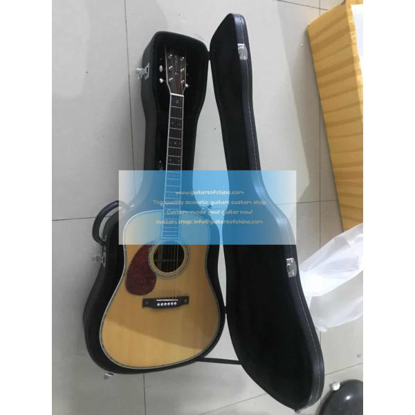 Affordable Best Custom Martin D-42 D 42 martin Acoustic Electric Guitar 2018 Lefty