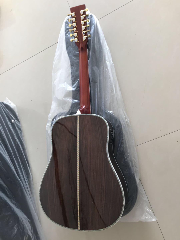 A solo ensemble-A 12string acoustic guitar