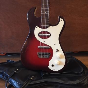 Custom 1963 Silvertone Model 1457 (2 Pickup, Sparkle Redburst)