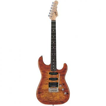 Custom G&L Legacy Deluxe Electric Guitar Honey Burst