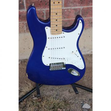 Custom 1991 Fender USA Stratocaster Standard Midnight Blue Purple Electric Guitar American Strat