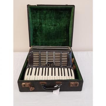 Custom Vintage Crucianelli Model 878 Accordion w/ Case (For Repair)