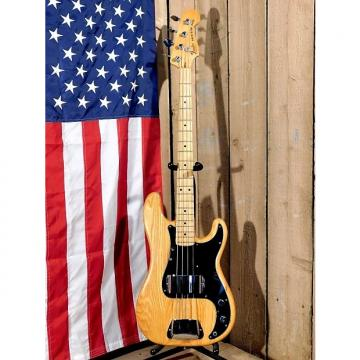 Custom Vintage 1978 Fender Precision Bass w / Original Case! Natural Finish!