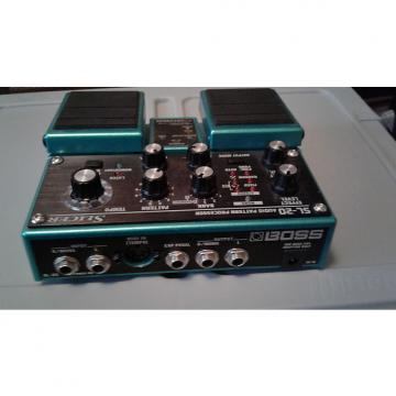 Custom Boss SL 20 Slicer pedal Green/turquois sparkle