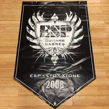 "Custom ESP Guitars Display Banner 36""x56"" 2008"