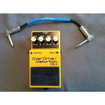 Custom Boss  Os-2 overdrive distortion pedal