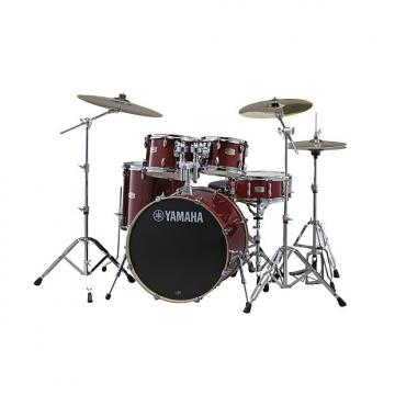 Custom Yamaha Stage Custon SBP0F5 CR Drum New In Box Unplayed 2017 Cranberry Red