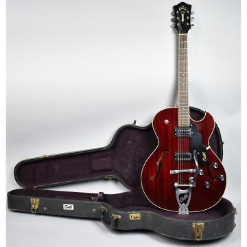 Custom 1972 Guild Starfire III Vintage Archtop Hollow Electric Guitar Cherry Red OHSC