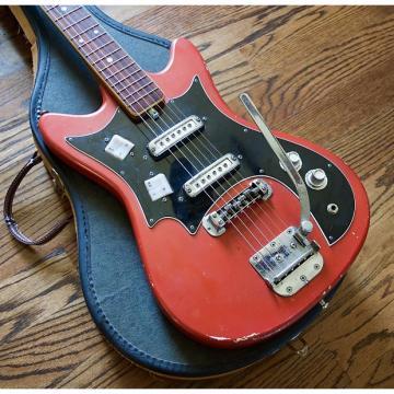Custom 1968 Truetone 300T Kay Kawai Electric Guitar w/ Vintage Case