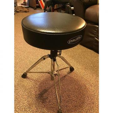 Custom Pacific  Drum Stool Black