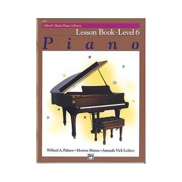Custom Alfred's Basic Piano Library Level 6 - Lesson