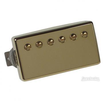 Custom Gibson Burstbucker Pro Pickup - Gold Bridge 2-Conductor
