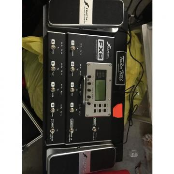 Custom Fractal Audio FX8 2015 Black w/ 2 FA Expression Pedals and Trailer Trash Case