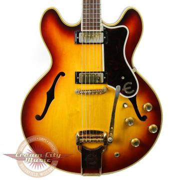 Custom Vintage 1965 Epiphone Sheraton E212TD Semi-Hollow Body Electric Guitar