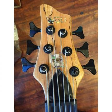 Custom 2017 Wolf Spalt6 Satin Spalt Maple 6 String Active/Passive Bass
