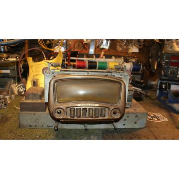 Custom 1940s Wards Airline~AM Short Wave Console Radio Chassis not tested tube, project