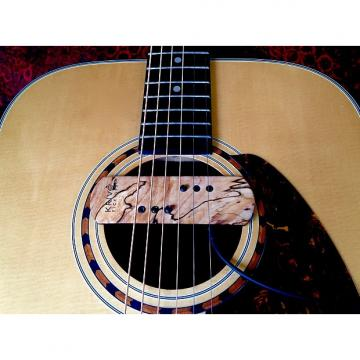 Custom Krivo Limited Edition Spalted Maple Modéle Acoustíque Magnetic Soundhole Pickup for Acoustic Guitar
