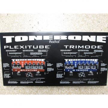 Custom Radial Tonebone Plexitube + Tonebone Trimode Dealer Display