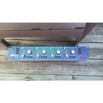Custom HHB Radius 10 4 channel tube Mic preamp Purple