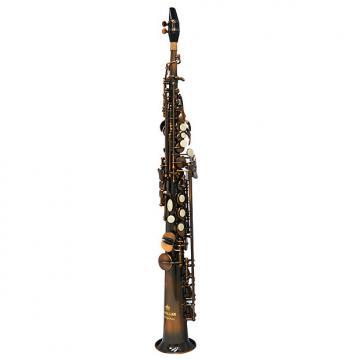 Custom Schiller American Heritage 400 Soprano Saxophone - Istanbul Copper