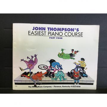Custom John Thompson's Easiest Piano Course Part Four