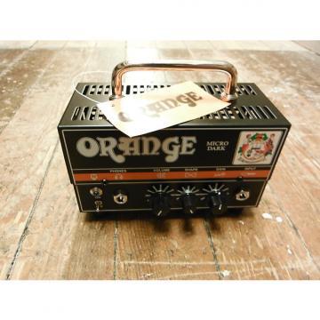 Custom Orange Micro Dark 20W Hybrid Head Black