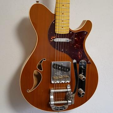Custom Schroeder Chopper TL Thinline Telecaster Tele Electric Guitar with Bigsby