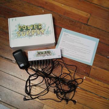Custom F-1 10 isolated Output 9V 12V18V Guitar Effect Power Supply