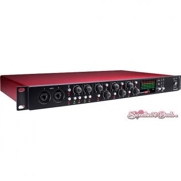 Custom Focusrite Scarlett OctoPre - Eight-Channel Preamp with ADAT Outputs