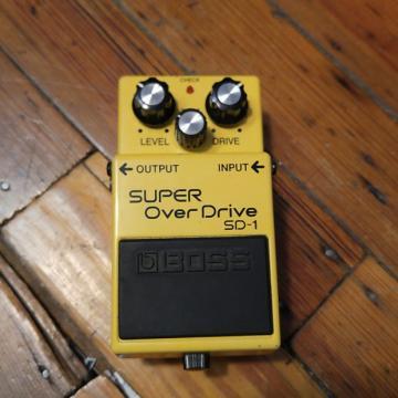 Custom Boss SD-1 Overdrive