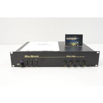 Custom Mesa Boogie Fifty/Fifty Stereo Power Amplifier