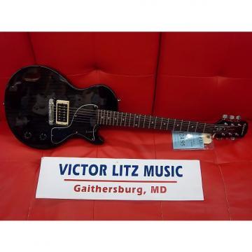 Custom Epiphone Les Paul Junior Electric Guitar Black
