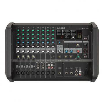 Custom Yamaha  EMX5 12-channel 1260W Powered Mixer 2017 Black